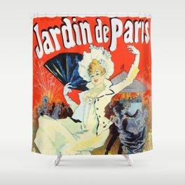 Jules Cheret Champs Elysees Jardin De Paris 1892 Shower Curtain