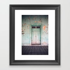 Lazy afternoon Framed Art Print