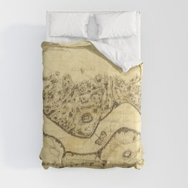 Original West Point Survey Map October 24th-27th 1783 Comforters