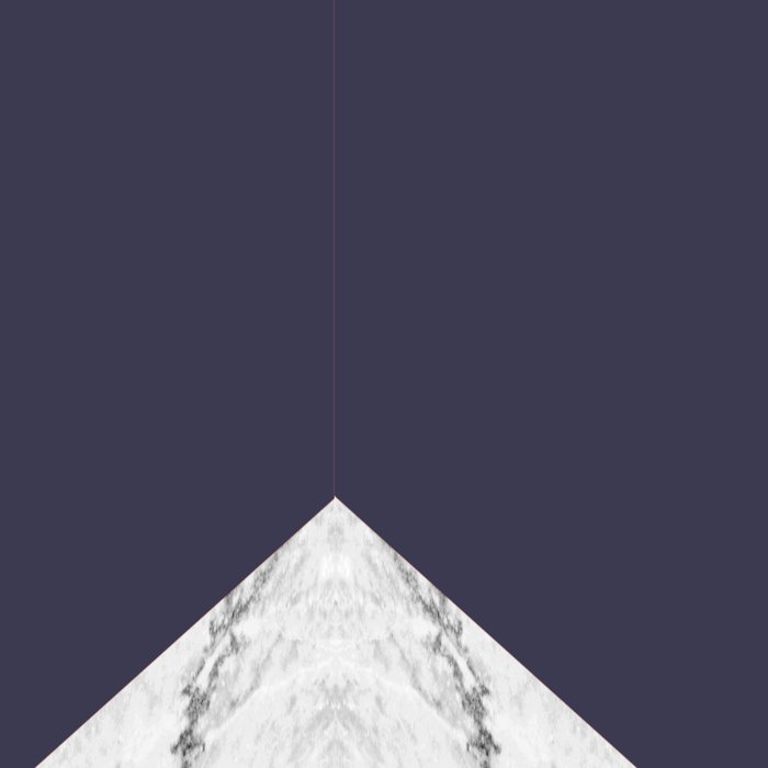 Marble Eclipse blue Geometry Leggings