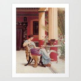 The Jewel Box by John William Godward Art Print