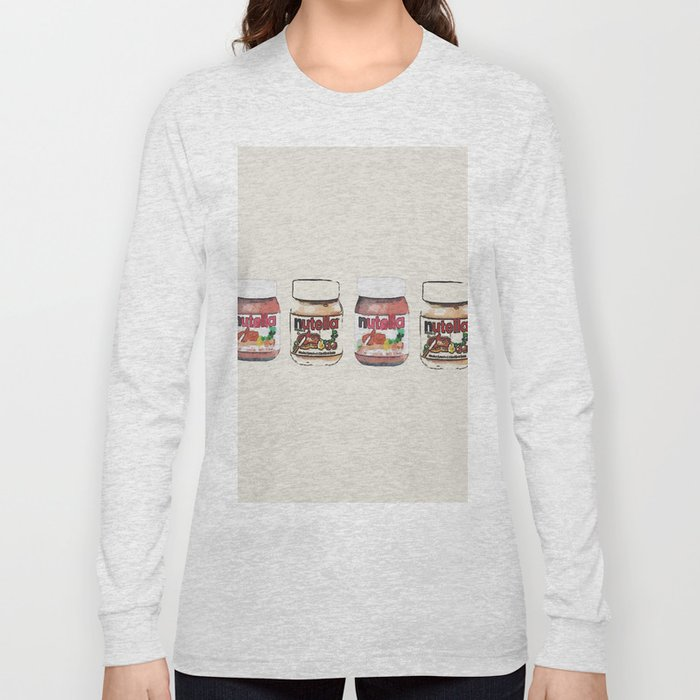 nutella-328 Long Sleeve T-shirt