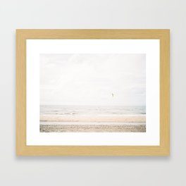 De Haan Beach Framed Art Print
