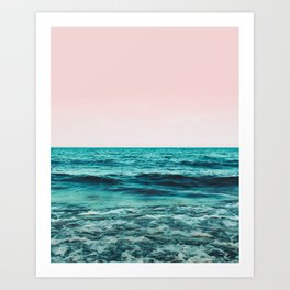 Ocean Love #society6 #oceanprints #buyart Art Print