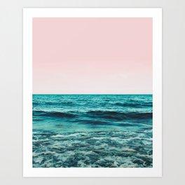 Ocean Love #society6 #oceanprints #buyart Art Print