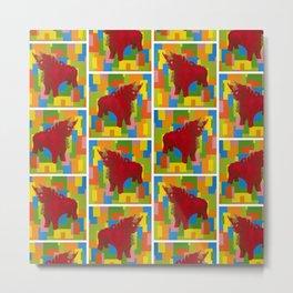 Bull - Torito de Pucara - Peru Metal Print