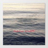 hakuna Canvas Prints featuring Hakuna Matata by Christine Hall