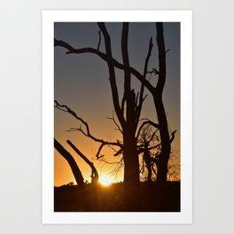 30th of January 2021, Sunrise in Busselton Western Australia Art Print