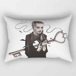 Heavy As A Heartbreak Rectangular Pillow