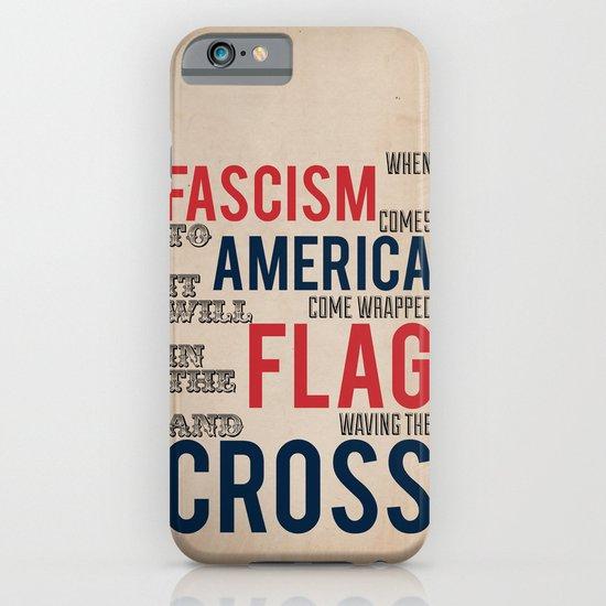 Fascism iPhone & iPod Case