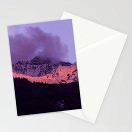 Swiss Alps Sunset II Stationery Cards