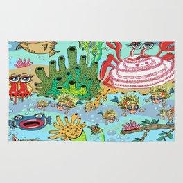 Mini Mermaids and Friends Rug