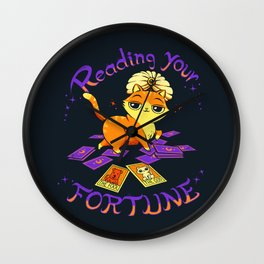 Reading Your Fortune Wall Clock