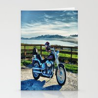 middle earth Stationery Cards featuring Harley Davidson, Middle Earth Edition. by Bodhikai Imagery | Pacific Northwest Tra