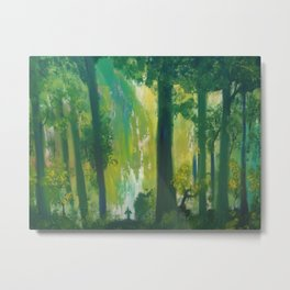 Lost Woods Metal Print