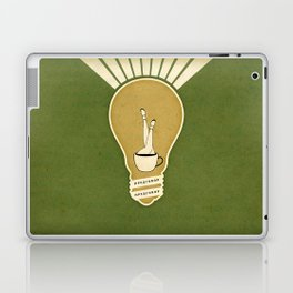 Light and the Coffee Laptop & iPad Skin