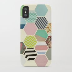 Florals and Stripes Slim Case iPhone X