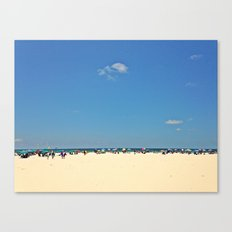 Horizon of Umbrellas Canvas Print