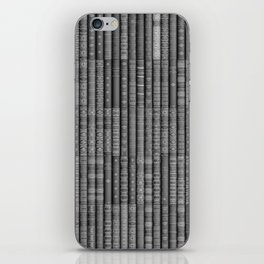 Keep Reading B&W iPhone Skin
