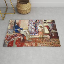 The Painter Ker-xavier Roussel And His Daughter - Digital Remastered Edition Rug