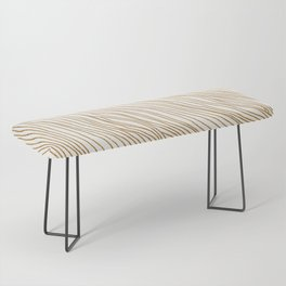 Metallic Wood Grain Bench