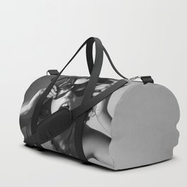 Girl in a mask Duffle Bag