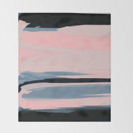 Soft Determination Peach Throw Blanket