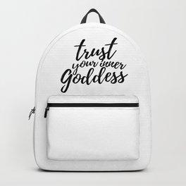 Trust Your Inner Goddess (Light) Backpack