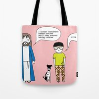 cookies Tote Bags featuring Cookies by theswagnessofbonnie