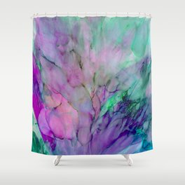 ALCOHOL INK Cvb Shower Curtain