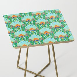 Royal Ornament Pattern Side Table