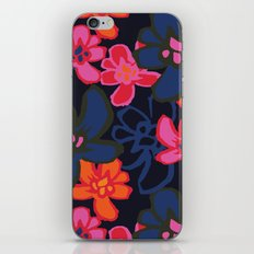 Camelia Woodcut - Winter iPhone & iPod Skin
