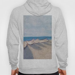Boats on the Beach Hoody