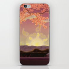 Chinese landscape iPhone & iPod Skin