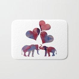 Elephant Art Bath Mat