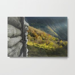Late Autumn in Appennino Metal Print