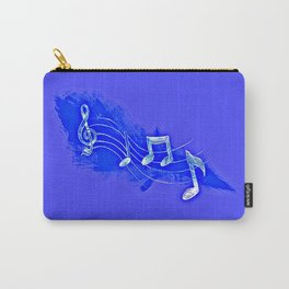 Blue Notes Carry-All Pouch