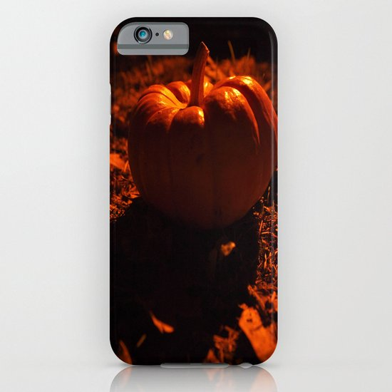 Lonely pumpkin iPhone & iPod Case