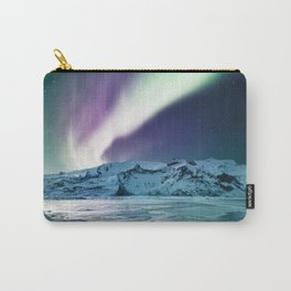 aurora in iceland Carry-All Pouch