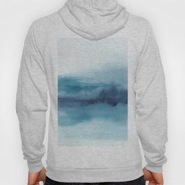 Abstract Landscape Painting Hoody