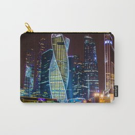 the bright lights of the city Carry-All Pouch