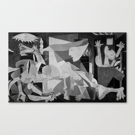 Guernica Pablo Picasso Painting Canvas Print