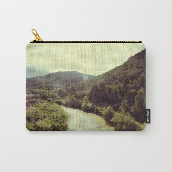 Between Mountains  Carry-All Pouch