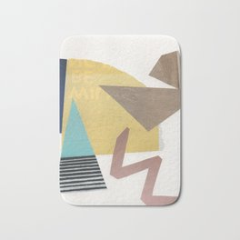 Triangles and Zigzags Bath Mat