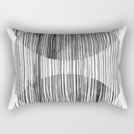Monastery Striped Circles Rectangular Pillow