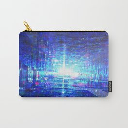 Blue Reflecting Tunnel Carry-All Pouch