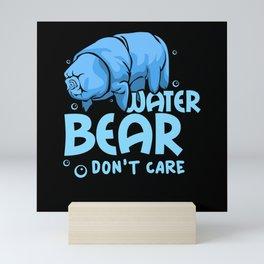 Water Bear - Gift Mini Art Print
