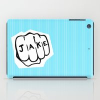 blues brothers iPad Cases featuring [ Blues Brothers ] Joliet Jake John Belushi by Vyles