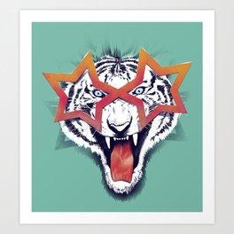 Wazzzup! Art Print