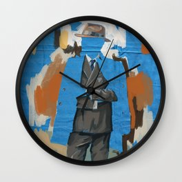 Large Parties are so Intimate Wall Clock